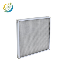 Customize panel air filter 20x20x1 pleated HVAC 노 Filters