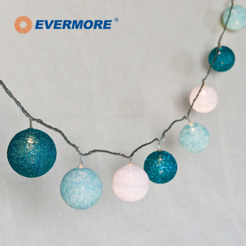evermore indoor big ball led string lights for christmas decoration - Big Indoor Christmas Decorations