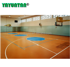corrosion resistant PU waterborne coatings for multi purpose sport flooring