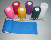 Personalized Tear by Hand Self - adherent Cotton Elastic Bandage Wrap CE/FDA (SY)