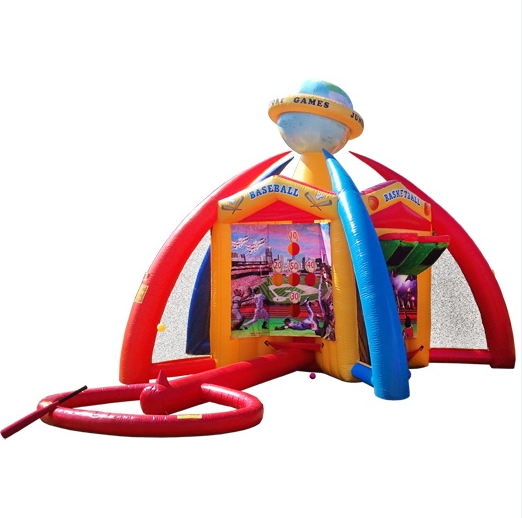 Inflatable World of Sports 5 in 1 sports game