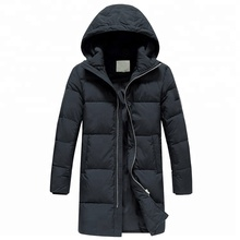 Lange stijl donsjack <span class=keywords><strong>mannen</strong></span> hooded winter heren jas