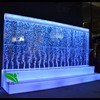 night club led dancing water bubble wall wine cabinet used nightclub furniture for sale