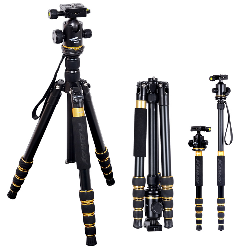 Sinnofoto Heavy duty Carbon fiber Video Professional Flexible camera tripod