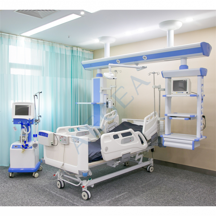 AG-BY007 different types positions control by motor medical price of hospital bed