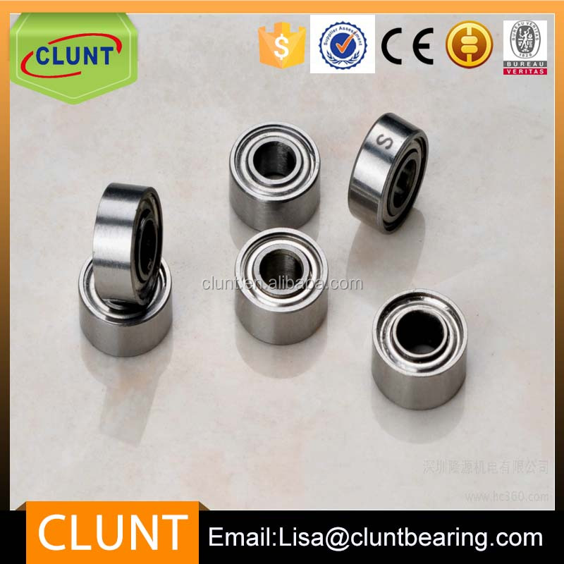 China Mini Deep Groove Ball Bearing MR85 Used for Computer Cooling Fan 5*8*2mm