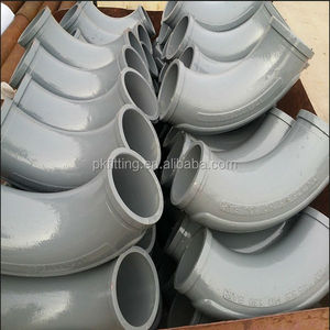 5 inch long radius 30 degree elbow pipe for sany concrete pumps