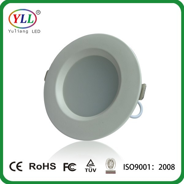 cut out size 100mm led ultra thin panel light 90-100lm/w warm white spotlight lamp/ SMD2835 led round <strong>downlight</strong> 7w