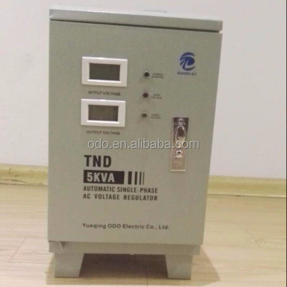 ODOELEC China Manufacturer SVC Series 5000VA 240V AC Voltage Regulator / Stabilizer