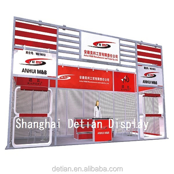 China Supplier attractive tradeshow booth displays custom exhibition booth