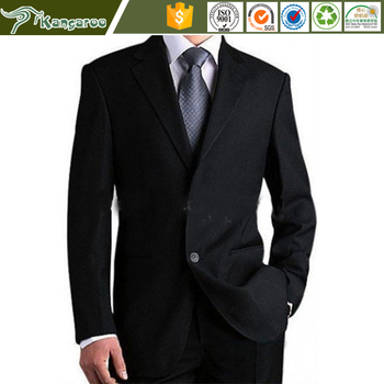 High Quality Wool Slim Cut Wedding Suits Business Uniform Men ...