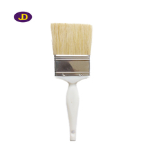 Natral Bristle With Pet Filament Flat Paint Brush With Plastic Handle
