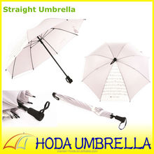 Lady parasol custom made large white bulk umbrella