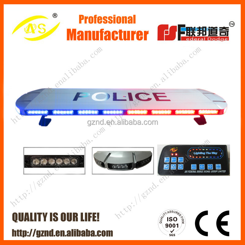 12 years experience factory supply police led emergency light bar rotating led warning lightbar