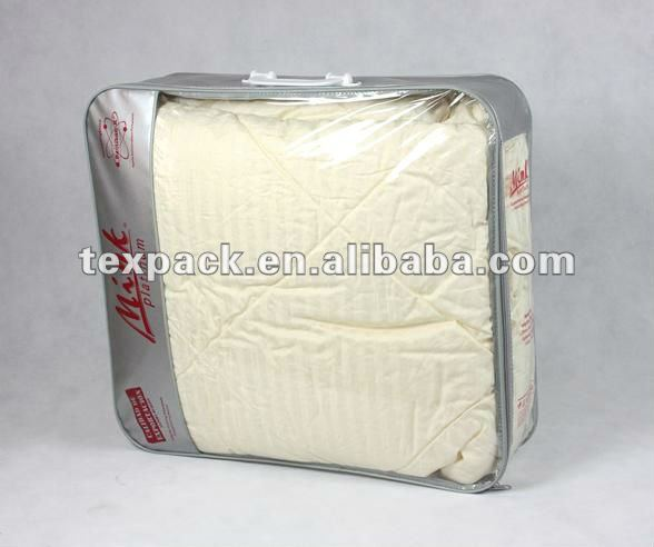 household non woven blanket packing bag organza