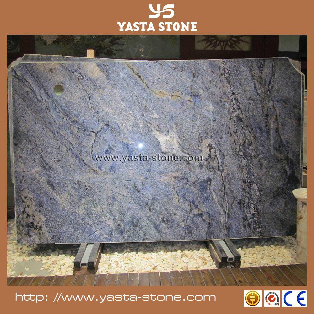 Precio barato oc ano azul marmol de marmol por metro for Precio metro cuadrado encimera granito