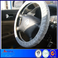 automobile interior accessories disposable plastic steering wheel cover