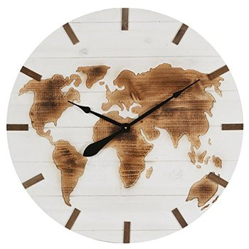 Vintage engraved world map wooden wall clock buy wooden clockwall vintage engraved world map wooden wall clock gumiabroncs Images