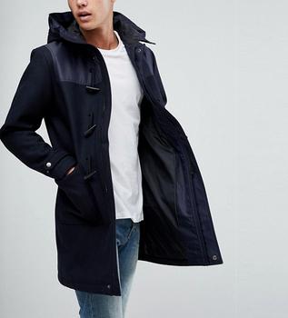 9eb83cc21160 Winter Long Jacket Double Breasted Overcoat Men's Winter Woolen Long Trench  Coat Business full lengthMen's Trench