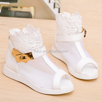 Summer Sweet Princess Dress Shoes Sandal Boots for Flower Girl Shoes SHOES-CS-03