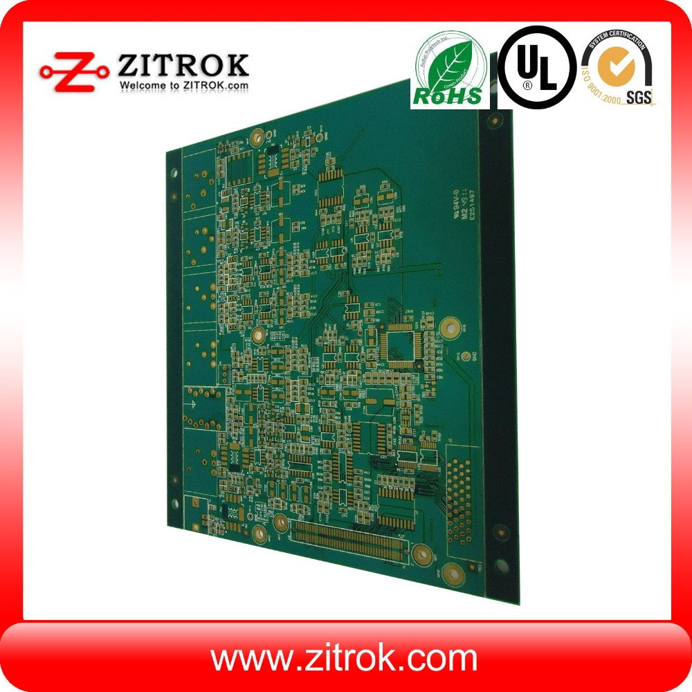 High quality bluetooth headphone pcb circuit board, HASL electronic printed circuit board maker in shenzhen