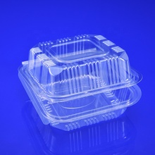 Groothandel clear clamshell <span class=keywords><strong>hamburger</strong></span> <span class=keywords><strong>plastic</strong></span> voedsel <span class=keywords><strong>container</strong></span> PET verpakking