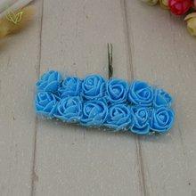 12 шт розы поддельные цветы PE искусственные цветы из пены дешевые для дома Свадебные украшения DIY ВЕНОК Подарочная коробка Скрапбукинг рукод...(Китай)