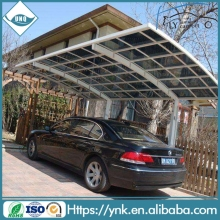 china supplier good quality clear/blue/green/opal color polycarbonate car porch