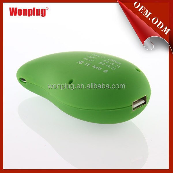 Beautiful move power charger 5600mah