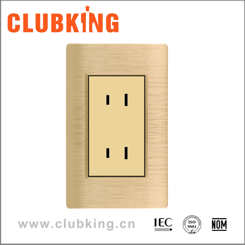 A6 Top Selling Unique Design Double 4 Pin Plug and Socket