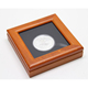 Customized Handmade Wooden Commemorative Coin Box
