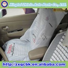 Zhixia brand factory price transparent disposable plastic car seat covers
