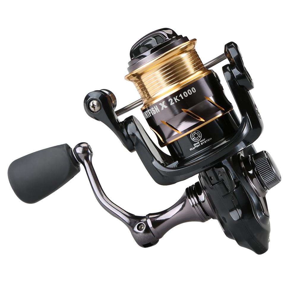 CEMREO High Quality 6+1BB 5.2:1 Mini Spinning Fishing Reel