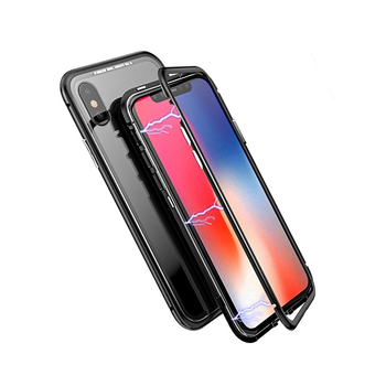save off b5d8a 6ca77 360 Full Cover Ultra Thin For Iphone X Magnetic Bumper Glass Case - Buy For  Iphone X Case,For Iphone X Magnetic Case,For Iphone X Ultra Thin Case ...