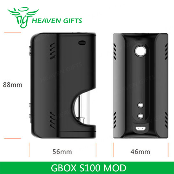 2016 Wholesale GeekVape GBOX 100W MOD With Support Watt, SS, Ni, Ti And TCR Mode