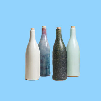 New Vintage Simple Design Ceramic Bottle