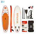"Fissot CE certificated 10'6""*31""*6"" drop stitch inflatable SUP paddle board"