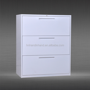 Lateral File Cabinet Wood Metal