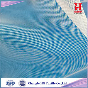 100% Nylon or Polyester Tulle Mesh Fabric for Embroidery