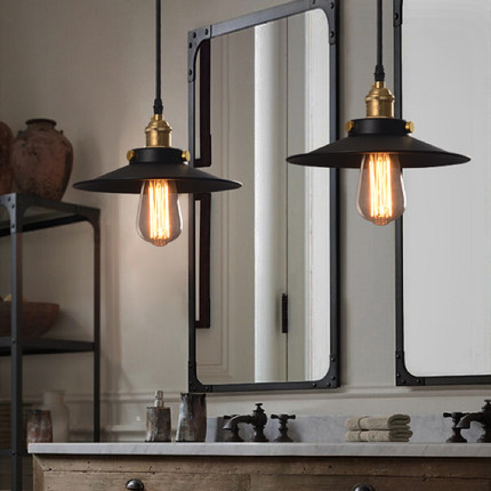 Nordic Personality Retro Industrial Chandeliers Creative Modern Wrought Iron Chandelier