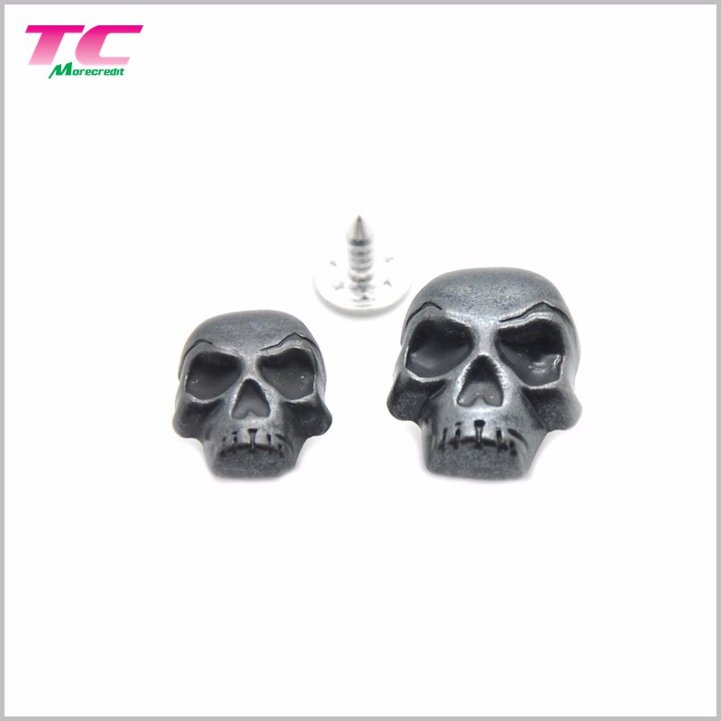 Existing Mold Metal Skull Button Metal Button Free Skull Jeans Button