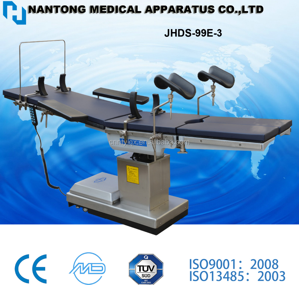 Electric X-ray Operation Table Tabletop Is Carbon Fiber Material ...