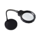 DH-88005 Decorative Adjustable Large Size Top Type Magnifying Glass Lamp,Table Led Magnifier Lens With Flexible Arm