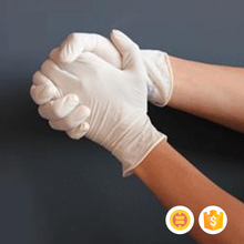 Comfortable fashion products medical latex examination gloves