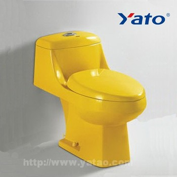 Washdown sanitary ware manufacturers wc colored toilets YA-2000(Golden Yellow) 5 colors for choice