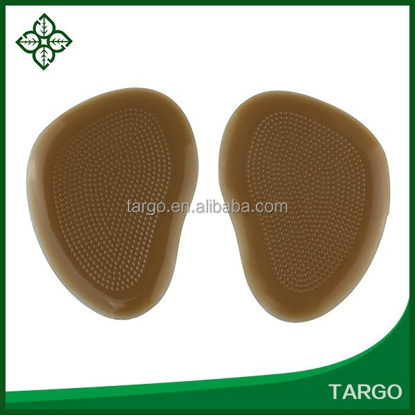Guangzhou medical PU Gel forefoot pad footcare products silicone gel foot pad