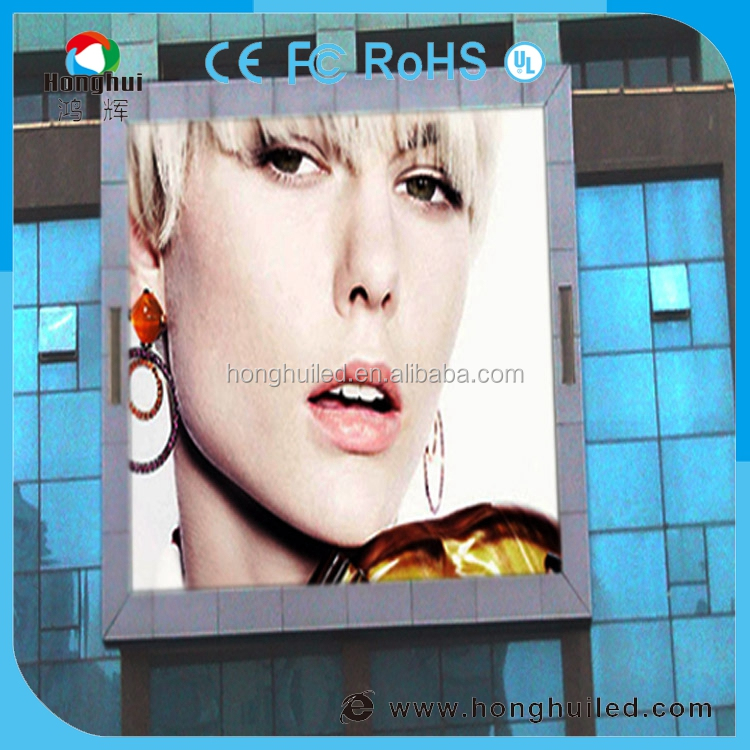 HD video sparkle/blink effect P8 led advertising board