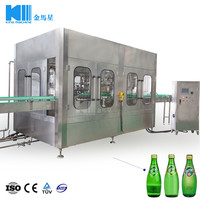 King Machine glass milk bottle filling machine