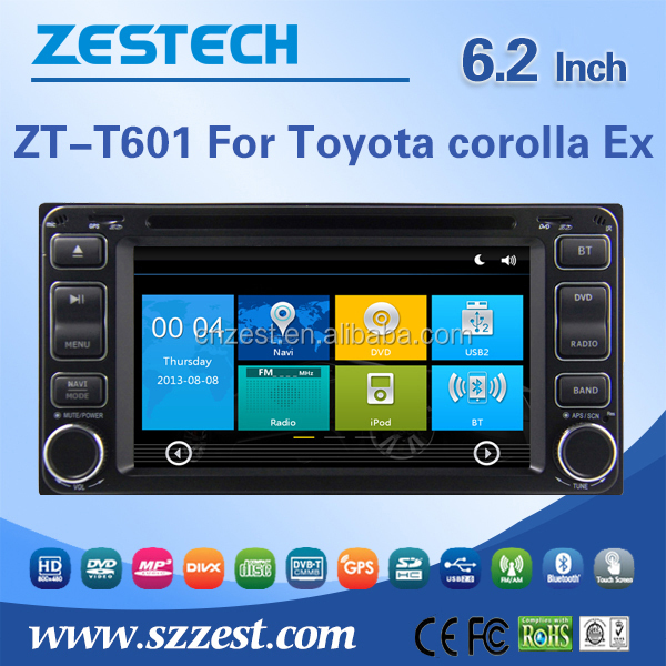 Car dvd player for <strong>TOYOTA</strong> <strong>Corolla</strong> EX Car DVD GPS Navigation system FM/AM Radio Audio multimedia Bluetooth RDS 3G wifi 2004-2011