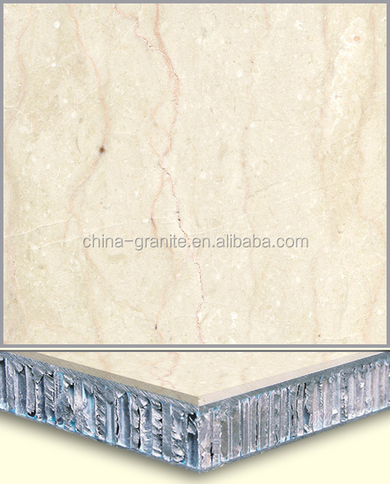 Factory Cheap Prices Crema Luna Composite Marble for Wall and Floor